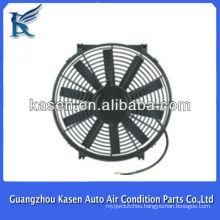 condenser fan motor 12V/24V 14 inch 80w Auto Cooling Fan /Condenser Fan For Universal