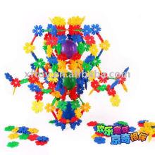 Forma de la hoja Snowflake Blocks
