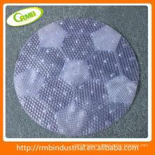 Plastic Bath Mat Ball in the Bathroom