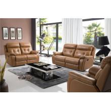 Canapé de salon avec canapé moderne en cuir véritable (794)