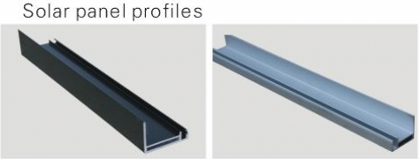 extruded profile aluminum