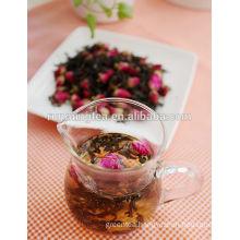Rose flower bud black tea/flower buds tea