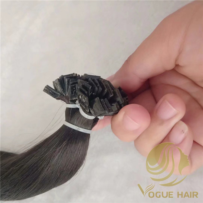 flat tip fusion hair extensions