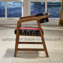 Double Color Wooden Restaurant Furniture Chair with Red and Black (SP-EC480)
