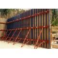 Contrachapado Face Formulario, Forma de Túnel, Forma de Columna Utilizado en la Construcción Vertiendo Concreto