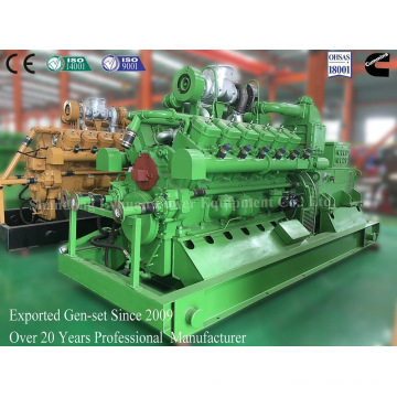 Gerador trifásico da biomassa da CA com combustível do gás da gasificação