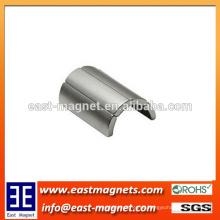 Heißer Verkauf super leistungsfähiger gesinterter ndfeb Magnetbogenmagnet / Segmentform super Neodymmagnet