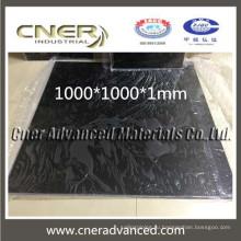 толщина 3,0 мм 3k твил / гладкая плетение из глянцевого углеродного волокна