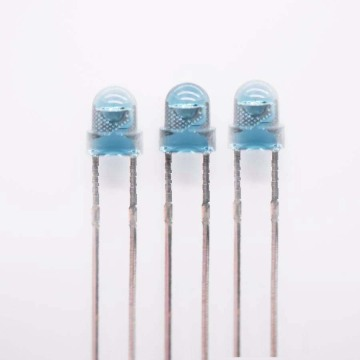 1550nm IR LED 3mm LED azul lente H4.5mm