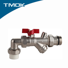 Válvula de Esfera Tipo PPR com Filtro e Vantagem Competitiva em Valvula TMOK
