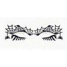 etiqueta engomada delineador de ojos temporal, etiqueta engomada del tatuaje de sombra de ojos para la fiesta de Halloween