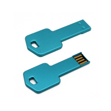 Promotional Gift Key Shape USB Flash Drive with Free Logo Printing