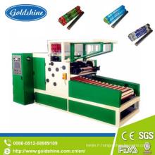 Machine de rebobinage de moteur électrique pour le film d'accrochage et le petit pain de papier d'aluminium