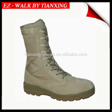 PU/rubber outsole military boots