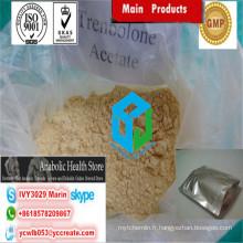 Powder Finaplix de poudre de stéroïdes de cycle entassant / catégorie pharmaceutique 10161-34-9 d'acétate de Trenbolone