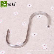 crochet en forme de S en metal pour magasin de vetements