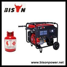 BISON (CHINA) Fábrica Gasolina LPG Dois-em-Um gerador de gás LPG Preço
