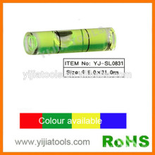 Vial mini nivel de alcohol con norma ROHS YJ-SL0831
