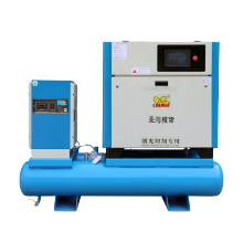 Special All in One Integrated 15kw 20hp Combined Screw Air Compressor with Tank and Dryer