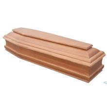 Деревянный гроб для похорон (H006)