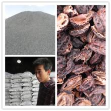 Индонезия низкая зола скорлупы кокосового ореха активированный уголь завод