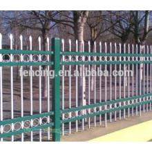 standard hot sale palisade fencing panels/hot dipped galvanized palisade fencing panels