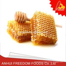 Natural queen bee comb honey