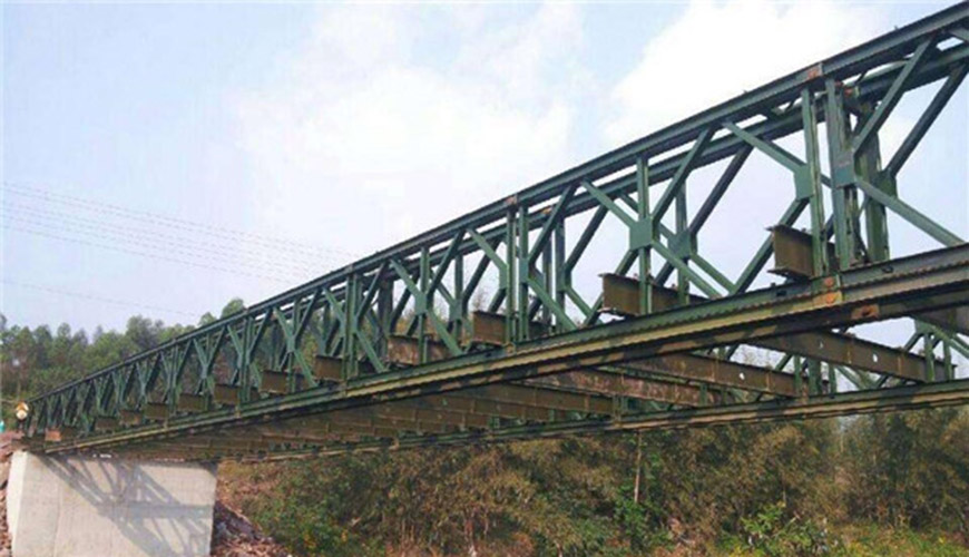 Steel For Bailey Bridge Structure