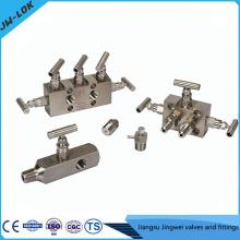 La plus haute valve de jauge haute pression SS et les collecteurs à trois soupapes en Chine