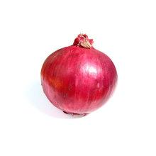 Große frische rote Zwiebel (6-8cm und oben, 9cm hoch)