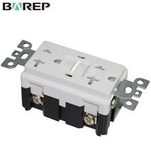 Outdoor water proof GFCI tv designer light switches and sockets