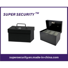 Metal Cash/Money Box/Coins Tray Security Safe Box (STB0406)