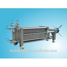 Edelstahlplatten- und Rahmen-Membranfiltrationsfilterpresse