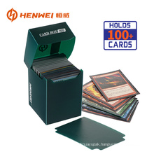 High quality game card plastic collection packaging box