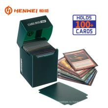 Высокое качество игровой карты пластиковая коллекция упаковочной коробки