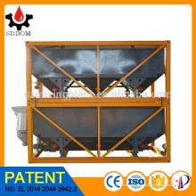 Produit de brevet 40m3 usine de mélange de béton empilable Horizontal Ciment Silo