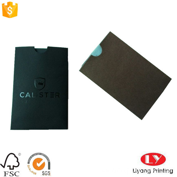 card packaging envelope