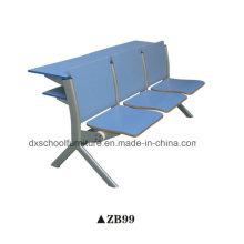 Escritorio y silla del estudiante de los muebles de madera de la escuela para el aula