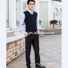 basic design man's cashmere sweater vest