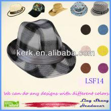 LSF14 2014 Best Price Fashion Fabric Fedora online hats uk