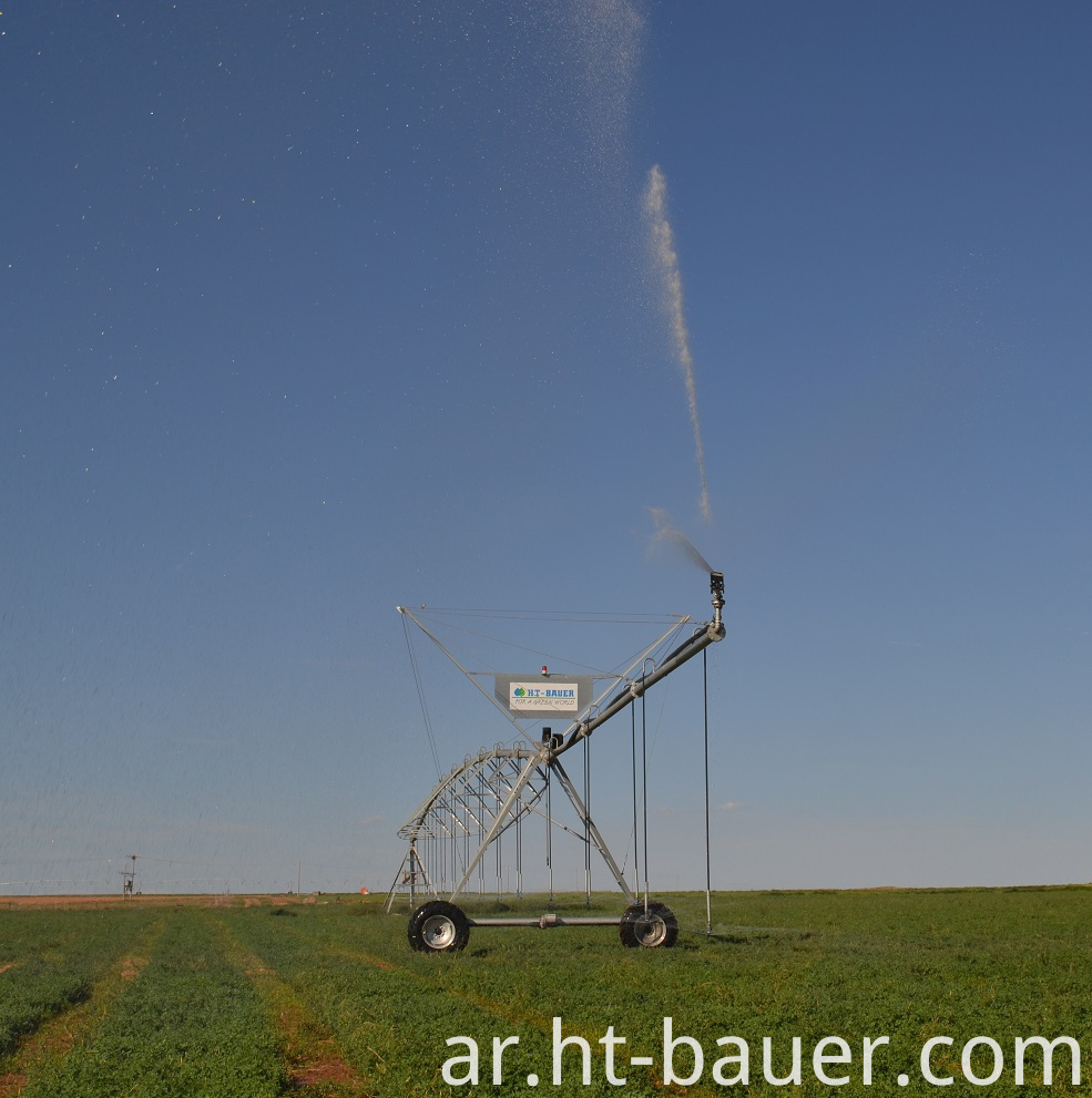 Center Pivot Irrigation End Gun