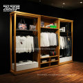 Customized Retail Wood/Metal Display Stand for Clothing Store
