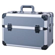 Tamaño personalizado de almacenamiento portafolios de aluminio transparente herramienta