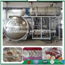 Máquina de liofilização de legumes e frutas