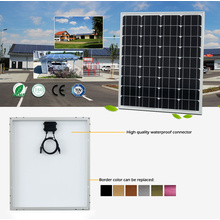 Panel Solar Fotovoltaico Monocristalino (SGM-90W)