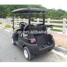 El coche de cristal de acrílico de los asientos del CE 2 bebe el carro de golf eléctrico del mini coche