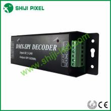 Diverso interruptor de señal 3w dmx al decodificador del spi para la luz llevada