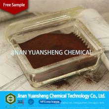 Lignosulfonato de sodio del aditivo del control del polvo del polvo de Brown rojo