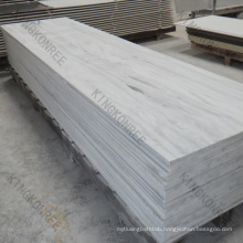 KKR white artificial marble stone solid surface sheet