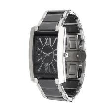 2017 novo design de moda popular steelman relógio de aço inoxidável. OEM, aço inoxidável, caso quadrado.